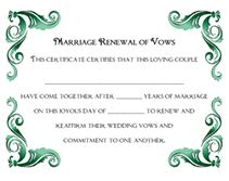 Free Printable Editable Certificates New 25Th Anniversary Vow Renewal Cake  Cakes Cupcakes  Pinterest .