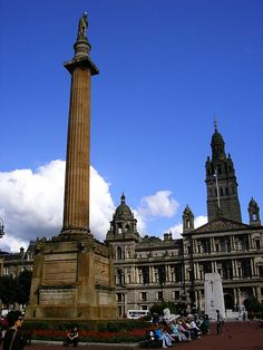 George Square, Glasgow, Scotland, 2008