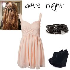 date night, created by regancary on Polyvore