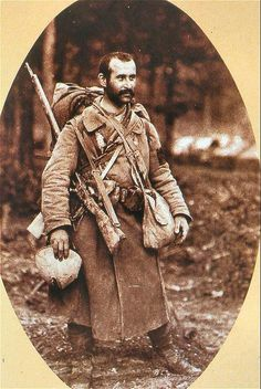A French Poilu, translated this is a warmly informal term for a French World War I infantryman, meaning, literally, hairy one.