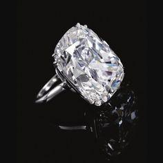 Impressive diamond ring | lot | Sotheby's. 35.25 carats .