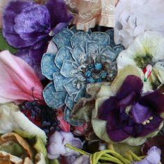 <3  Vintage millinery flowers