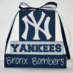 New York Yankees WoodenBlock