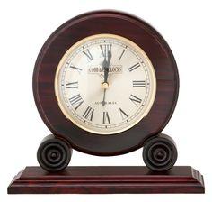 Colonial Mantle Clock Mahogany