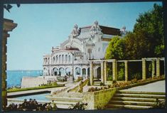 """Casino Constanta in Romainia's """"Monte Carlo"""" Lancaster County, French Photographers, Pretty Photos, Photo Story, Black Sea, French Riviera, Abandoned Buildings, Eastern Europe, Monte Carlo"""