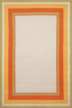 Trans-Ocean Imports NWP71166144 Newport Collection Ivory Finish Everywear Rug