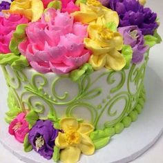 The White Flower Cake Shoppe Beachwood Dallas Cowboys Birthday Cake, Cowboy Birthday Cakes, 80 Birthday, Happy Birthday, Pink Rosette Cake, Floral Cake, Pretty Cakes, Beautiful Cakes, Amazing Cakes