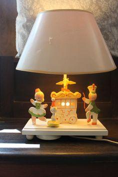 Vintage Nursery Originals by Irmi Wooden Musical by
