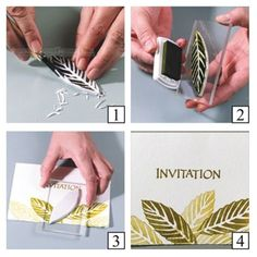 Goma para hacer sellos 10x14x1 cm.