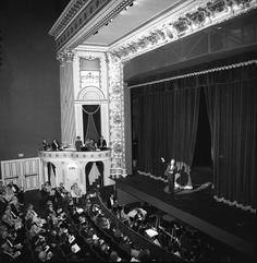 """""""Kismet"""" at the second gala reopening of Thalian Hall in 1990"""