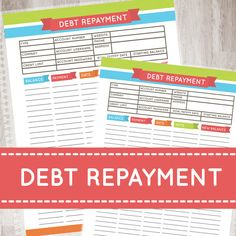 Hey, I found this really awesome Etsy listing at https://www.etsy.com/listing/213047422/debt-repayment-debt-repayment-laminated