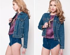 Vintage Levi's Denim Jacket by rumors on Etsy, $32.00