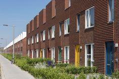 Refined brick details based on garden town Brick Detail, Multi Story Building, Garden, House, Atelier, Garten, Home, Lawn And Garden, Gardens