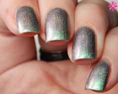 Tonic Polish : Tonic Greenglow - Shop here- www.color4nails.com Worldwide shipping available