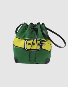 Roberta di Camerino green little bag