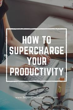 Do you ever wish there were a few more hours in the day? It often feels like there's so much to do but not enough time. How can we get more of the right things done? Here are 5 key ways to increase productivity today. (...PLUS a free workbook!)