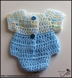 Mamma That Makes: Jacks One Piece - Free Crochet Pattern
