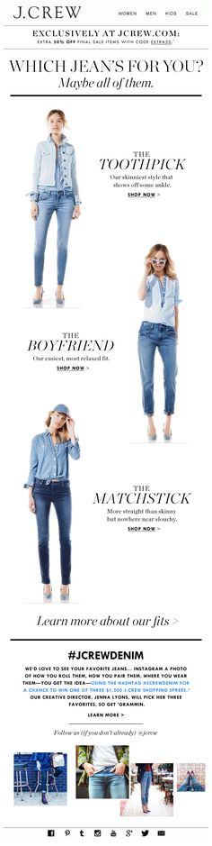 J.CREW : Outfitting + Social