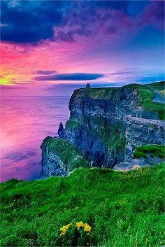 Cliffs of Maher, Ireland