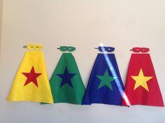 10 superhero capes and masks on etsy
