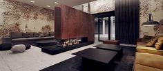 Kler showroom interior design, dobrodzien.