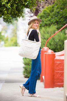 No matter what you're doing for this Fourth of July weekend, an oversized tote will make it easier. Bring it to the beach, pack it with farmer's market goods, or simply use it to transport all your picnic treats from one place to another. These 15 choices are chic and can fit EVERYTHING you need