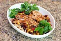 40 of Our Best Slow Cooker Chicken Recipes: Slow Cooker Chicken Thighs, Tex-Mex Style