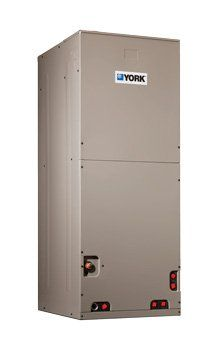 1.5 Ton York Air Handler - AHR18B3XH21 Thermal Expansion Valve - Provides the ultimate refrigerant control required for today's.. Insulated Cabinet - All air handler cabinets are thermally insulated with 3/4 foil fa.. Factory Sealed - Achieves 2% or less total airflow leakage rate at duct blaster field test.. Durable Finish Inside and Out - Air handler casings are made of pre-painted galvanized s... #York #HomeImprovement