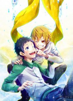 DURARARA!! - Mikado Ryuugamine & Masaomi Kida
