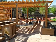 Interaction Imagination: A collection Of Outdoor spaces for learning and play...