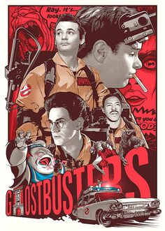 GhostBusters Movie Poster, available at 45x32cm.This poster is printed on matt coated 350 gram paper.