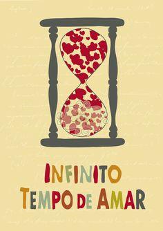 Pôster Infinito tempo de amar