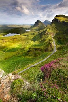 Isle of Skye a view of Trotternish Ridge