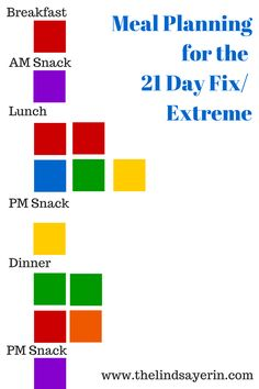 Lindsay Erin: How to Make Meal Planning Easier (21 Day Fix Approved)
