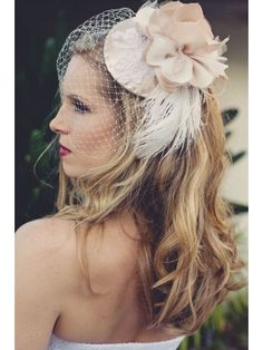 This. This is what I think we (Me) should be making. I am pretty sure I could...Champagne Toast Bridal Hat. Would we be my friend if I wore one?
