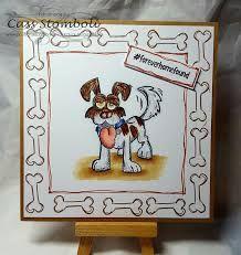 Image result for crazy dogs stamped cards