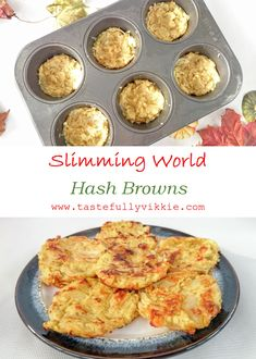 What's a Full English without hash browns? And they don't have to be unhealthy either with these Slimming World friendly ones :D via Tastefully Vikkie astuce recette minceur girl world world recipes world snacks Slimming World Hash Brown, Slimming World Lunch Ideas, Slimming World Tips, Slimming World Dinners, Slimming World Recipes Syn Free, Slimming Eats, Slimming World Breakfast Ideas Quick, Syn Free Food, Sliming World