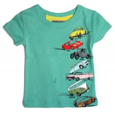 """Tee-shirt manches courtes """"Time Car"""" [Milk on the Rocks]... if only we lived in Paris.. cutest clothes."""