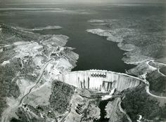 Kariba Dam with lake forming in the background. June 1959 Zimbabwe/Rhodesië Source: (Foto), Zuid-Afrikahuis Copyright: for information: Zuid-Afrikahuis Places Of Interest, Zimbabwe, Beautiful World, South Africa, Countries, Safari, Birth, Stuff To Do, Paradise