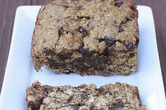 banana chocolate chunk oatmeal cookie bread
