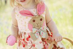 Bunny Hop Dress Girls PDF dress pattern  Sizes by RubyJeansCloset, $8.50