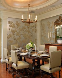 Dining Rooms - traditional - Dining Room - Boston - Jan Gleysteen Architects, Inc