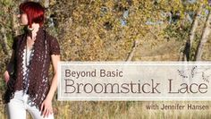 beyond broomstick lace #crochet class on Craftsy
