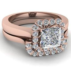 Engagement Rings Princess Cut Halo 35
