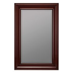 Have to have it. Cooper Classics Wellsley Wall Mirror - Brown - 17W x 29H in. $238.00