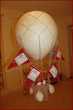 Воздушный шар для декора фотосессии