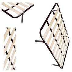 SOMIER BASIC LÁMINAS DE MADERA 135X190 REFORZADO CON 6 PATAS - http://vivahogar.net/oferta/somier-basic-laminas-de-madera-135x190-reforzado-con-6-patas/ -