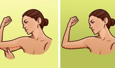 Are you tired of your saggy flabby arms? We have compiled here 23 exercises to get rid of flabby arms workout you can do at home. The good news is, the workouts can done using weights or no equipment at all. Quick Easy Workouts, Fun Workouts, Workout Tips, Workout Motivation, Lose Arm Fat, Lose Weight, Weight Loss, Vitamin B 1, 5 Minute Abs