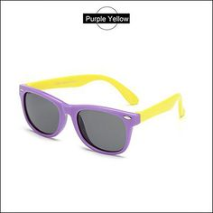 3c78500b1d Polarized Kids Sunglasses Boys Girls Baby Infant Sun Glasses 100% UV400 Eyewear  Child Shades Purple