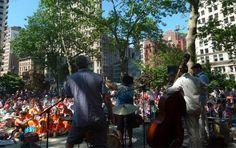 t/th concerts at madison sq park